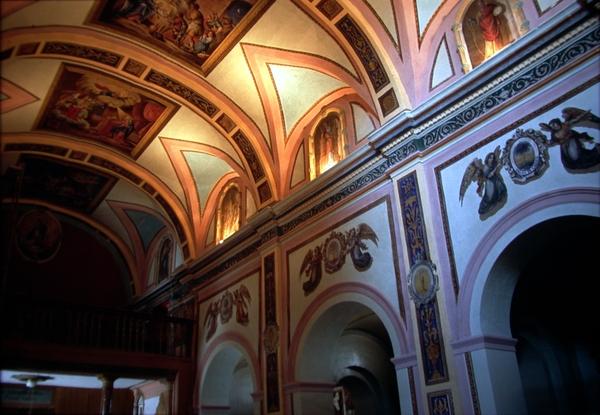 Vista interior bóvedas