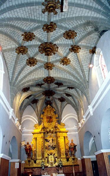 Interior. decoración bóveda