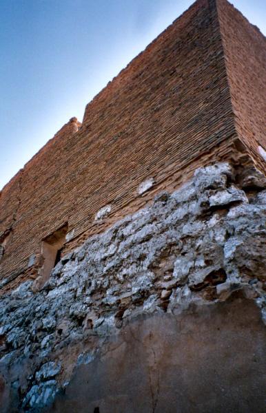 Detalle muro torre