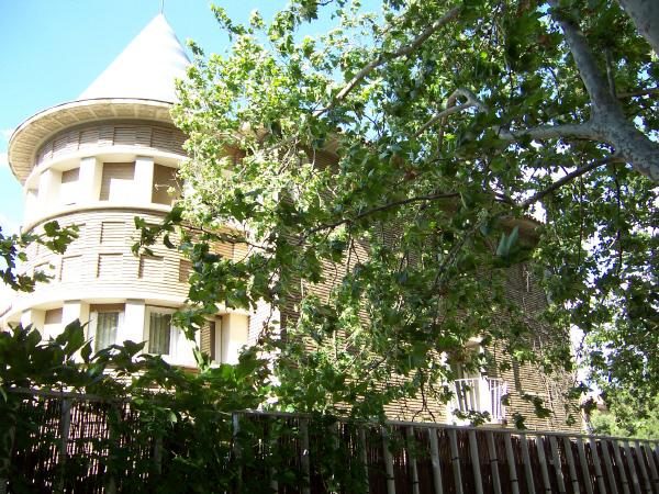 Vista exterior torreón lateral