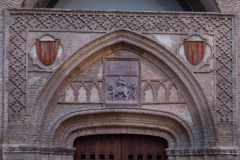 Entrada iglesia de San Martín