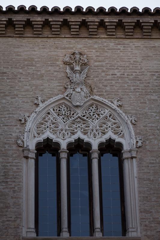 Ventanas palacio Reyes Católicos