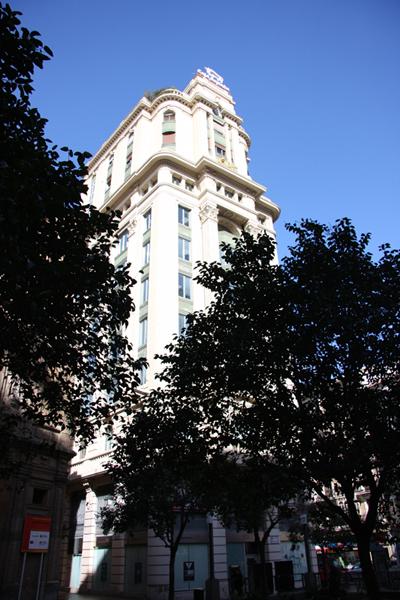 Vista general de la fachada