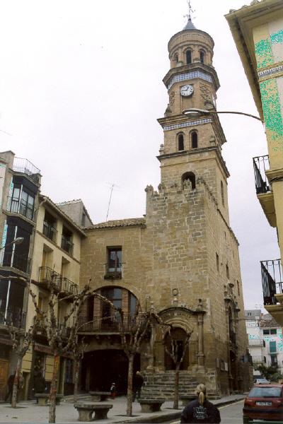 Vista general desde plaza de España