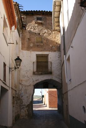 Portal-capilla de San Miguel