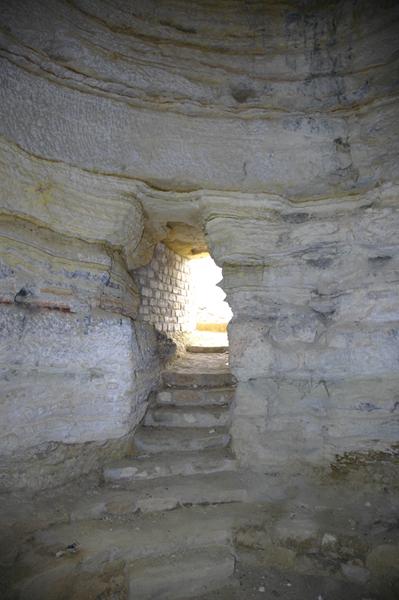 Interior. Pasadizo de acceso