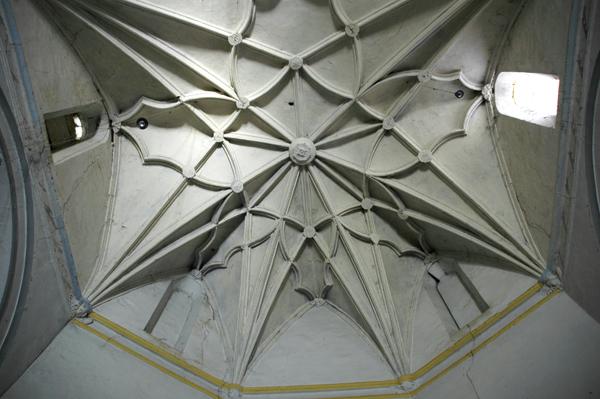 Interior. Cabecera. Bóveda