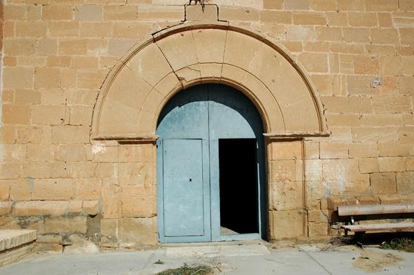 Exterior. Puerta de ingreso