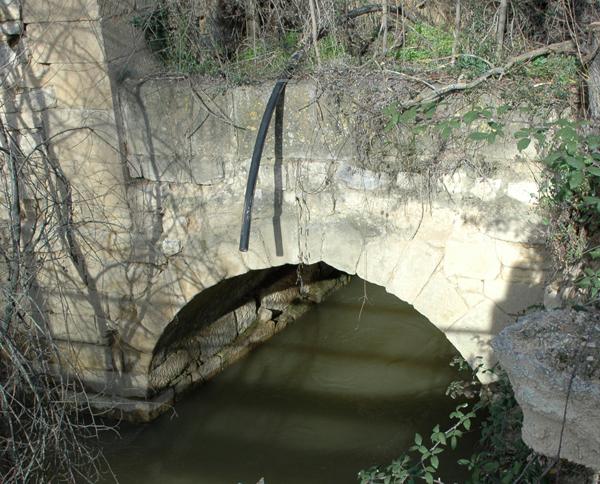 Canal de desagüe