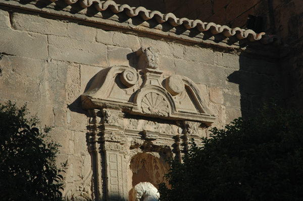 Hornacina. Lado de la Epístola
