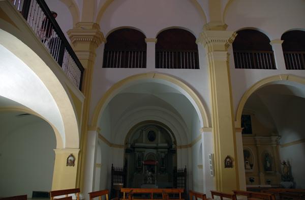 Coro y capillas barrocas
