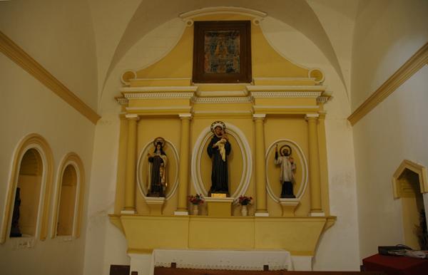 Primera capilla. Lado del Evangelio