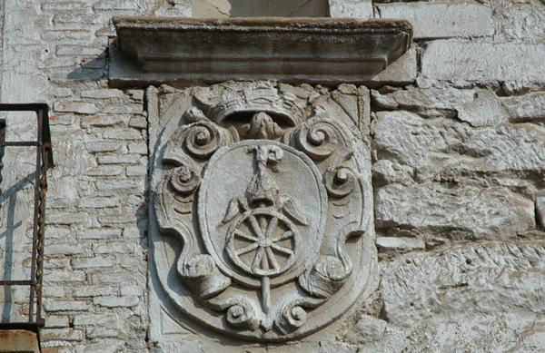 Escudo del monasterio de Rueda