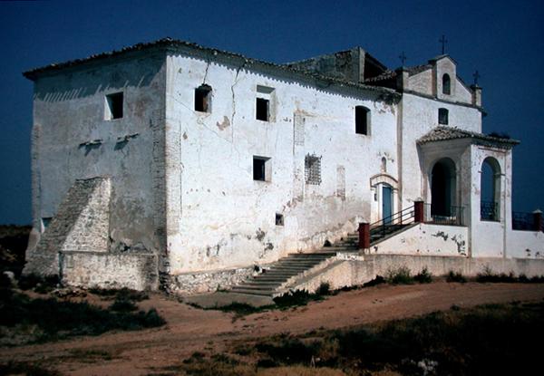 Sureste. Edificio auxiliar desaparecido. 1988