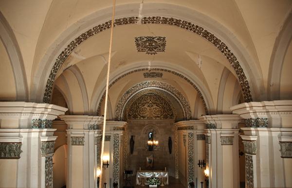 Interior. Bóvedas