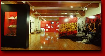 Interior museo de Bielsa
