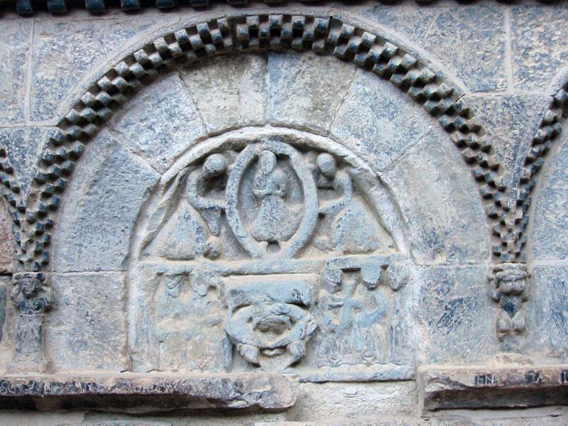 Relieve sepulcral del panteón de nobles