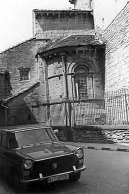 Ábside meridional. 1979