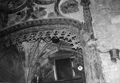 Capilla de San Sebastián. Detalle. 1979