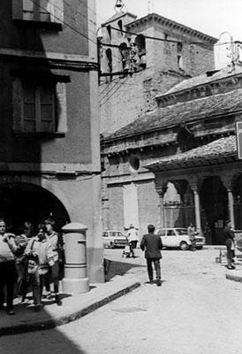 Entorno de la catedral. Fachada meridional. 1979