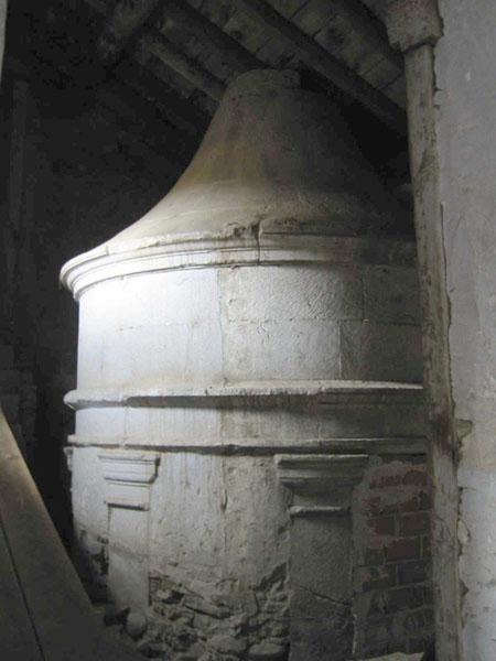 Capilla de la Trinidad. Extradós de la bóveda. 2002