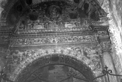 Capilla de la Trinidad. Arco de acceso. 1979