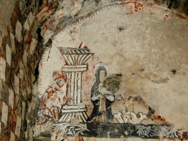 Virgen en el ábside central