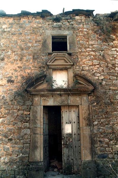 Portada de la hospedería. 2001