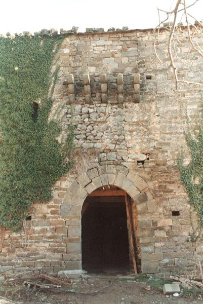 Portada del palacio abacial. 2001