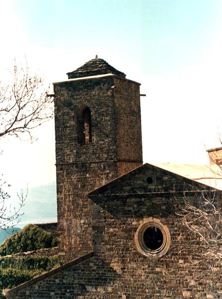 Cabecera de la iglesia y torre. 2001