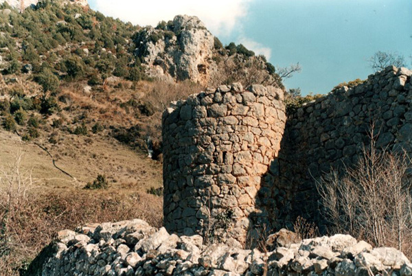 Restos de la muralla. 2001
