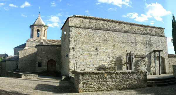 Refectorio, acceso al claustro y cabecera