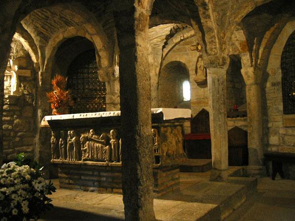 Cripta y sarcófago de San Ramón