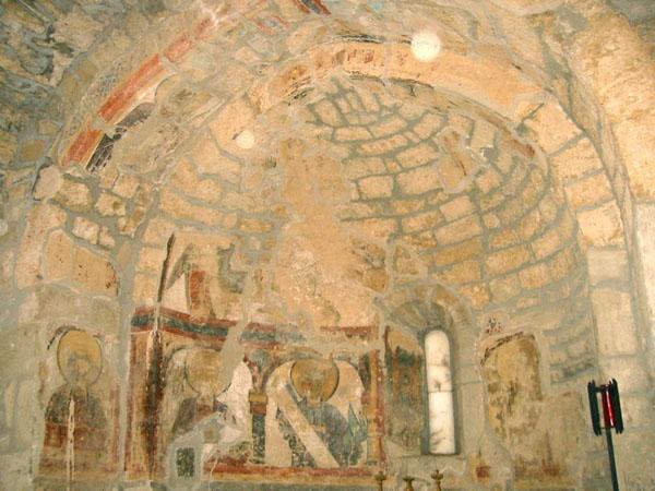 Pintura mural. Cripta norte