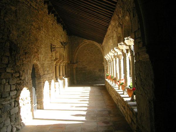 Claustro. Interior