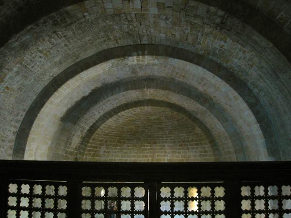 Bóvedas desde el coro. 2001
