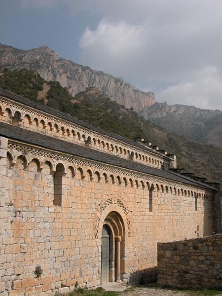 Vista lateral desde el sur