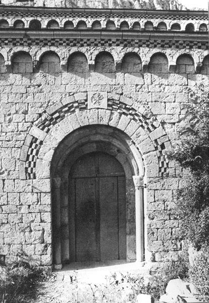 Portada de la iglesia. 1979