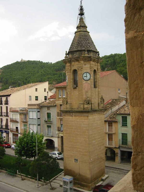 Entorno del palacio. Torre del Reloj