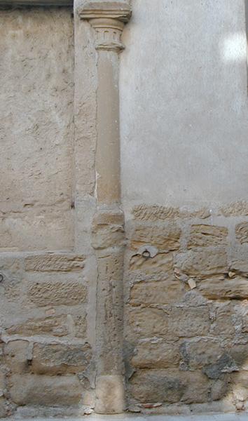 Patio. Columna