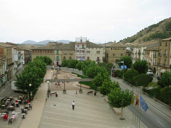 Entorno del palacio. Plaza
