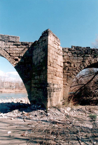 Tajamar desde aguas abajo. 2001