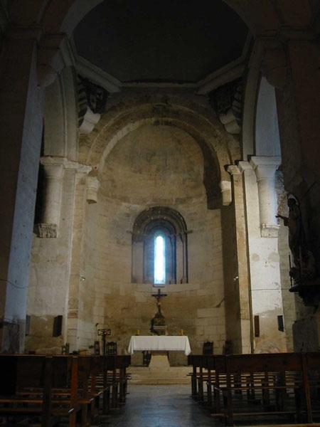 Iglesia. Interior. Ábside