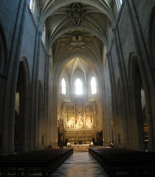 Nave central y ábside
