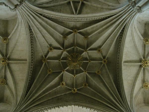 Bóveda del ábside