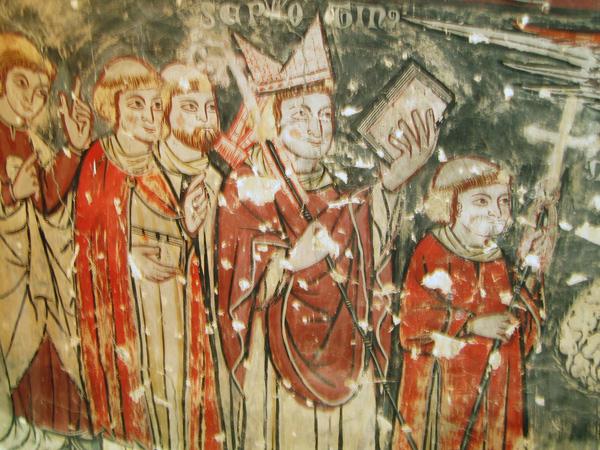 Pintura. Séquito episcopal. 2003
