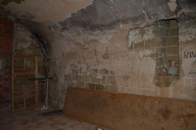 Sacristía. Cuerpo inferior de la torre