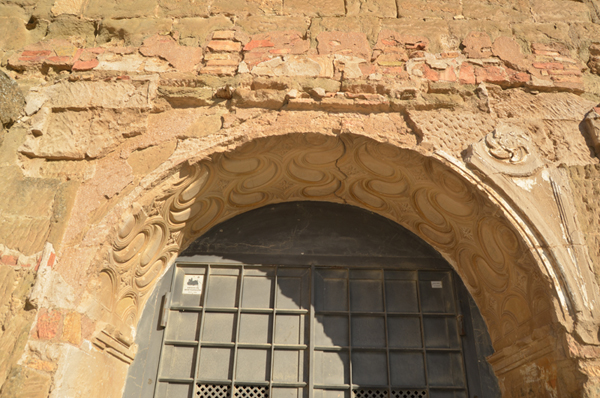 Intradós arco de entrada