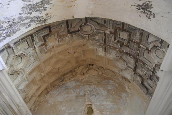 Bóveda capilla lado de la Epístola