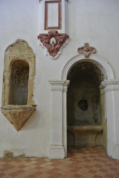 Lado Evangelio. Capilla y acceso al púlpito
